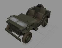 maya willys army jeep