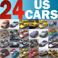 3d model cars 24