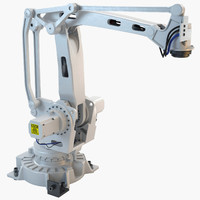3d industrial robotic abb irb model