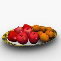fruits 3d max