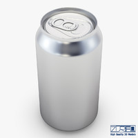 3d model aluminum soda v 1