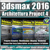 3ds max 2016 Architettura Project 4 Subscription