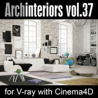 cinema4d archinteriors vol 37 interiors