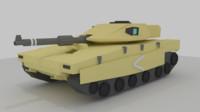 merkava mk4 tank 3d blend