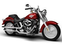 Harley-Davidson FLSTF Softail Fat Boy 2015