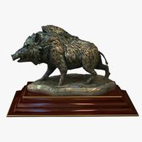 statuette boar max