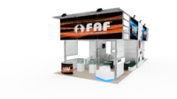 exhibition 50 faf design 3ds