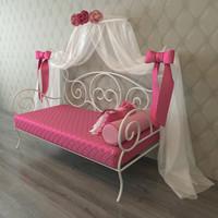 3d bed girl model
