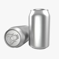 aluminum 0 33l 3d model