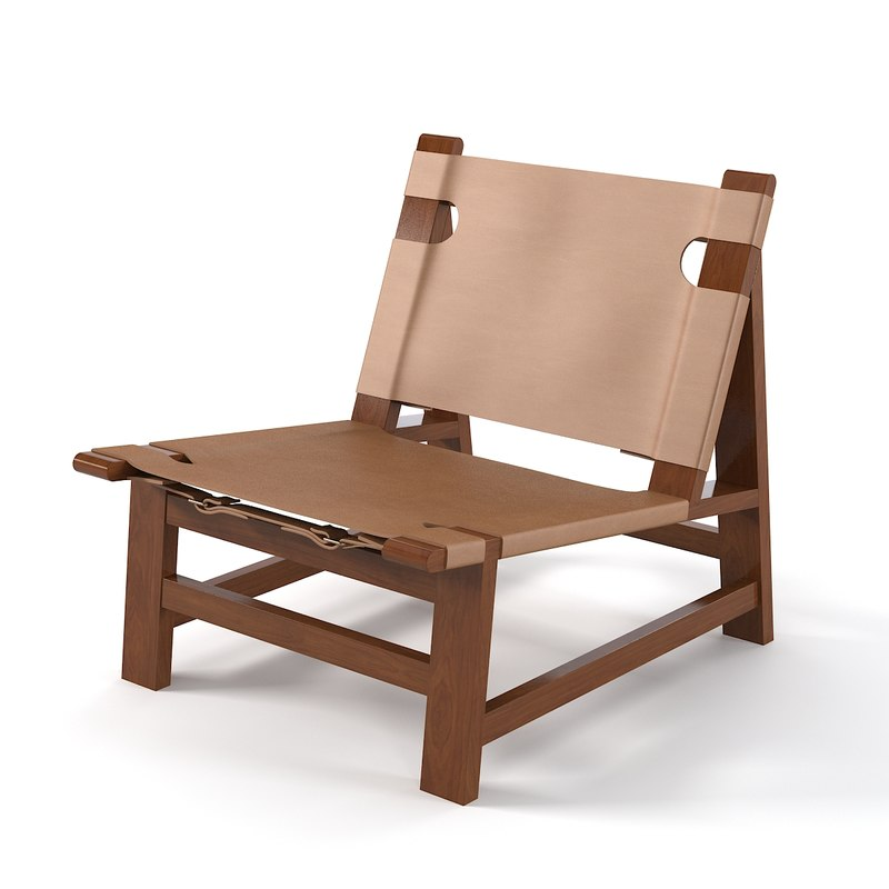 Ralph Lauren 34001-03 Sonora Canyon Sling Chair modern contemporary beach outdoor leather rouhg wooden 0001.jpg