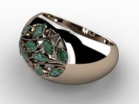 ring stones 3d model