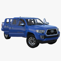 3d max toyota tacoma 2016 rigged