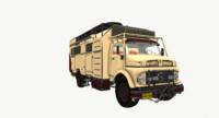 3d trucks mercedes benz 1969 model