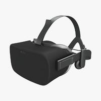 3d model oculus rift