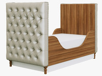restoration hardware chesterfield 3d model