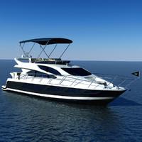 Luxary Yacht Sunseeker Manhattan 65