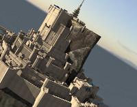 3ds medieval citadel