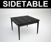 3d model contemporary table