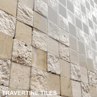 3d tile travertine model