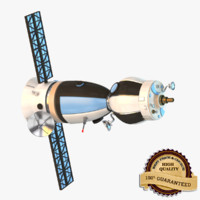 3d model spy satellite