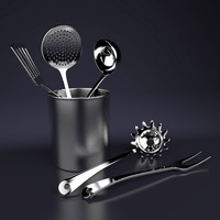 3d utensil set