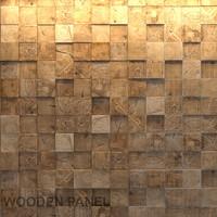 wooden panel 3d model
