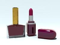 3d max lacquer lipstick