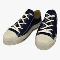 3d sneakers blue