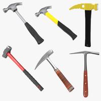 3d model generic hammers