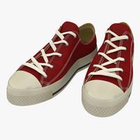 maya sneakers red