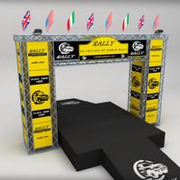 3d wrc podium