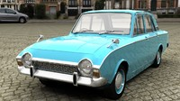 ford corsair 3D models