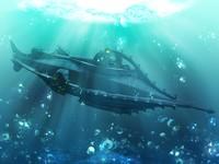 3dm nautilus submarine