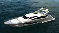 3d yacht