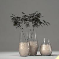 3dsmax vase branches