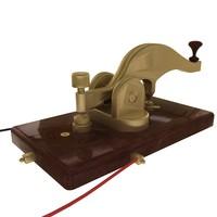 telegraph 3d model