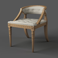 classic swedish chair 3d max