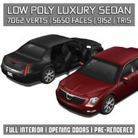 3ds luxury car vehicle