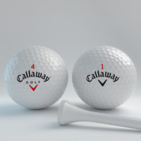 3d model blender golfball callawayv1v4