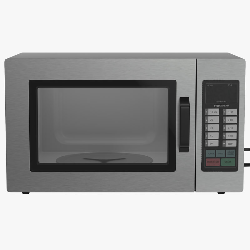 Microwave Oven Generic 3d model 00.jpg