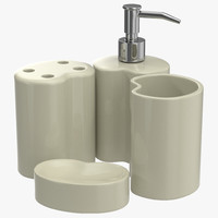 max bathroom accessories set 2