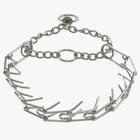 3d model dog collar