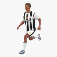 soccer player juventus rigged max