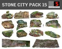 maya stone city pack 15