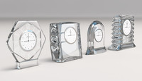 3d model baccarat clocks