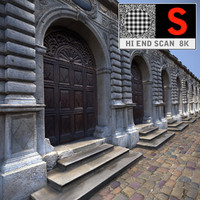 3d model of gate elevation ready