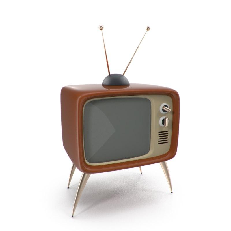 Retro Vintage Television Max