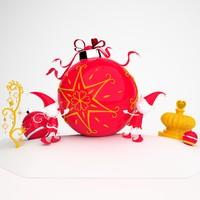 obj christmas decoration