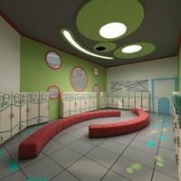 baby study teach 3d model