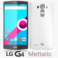 3d model lg g4 metallic